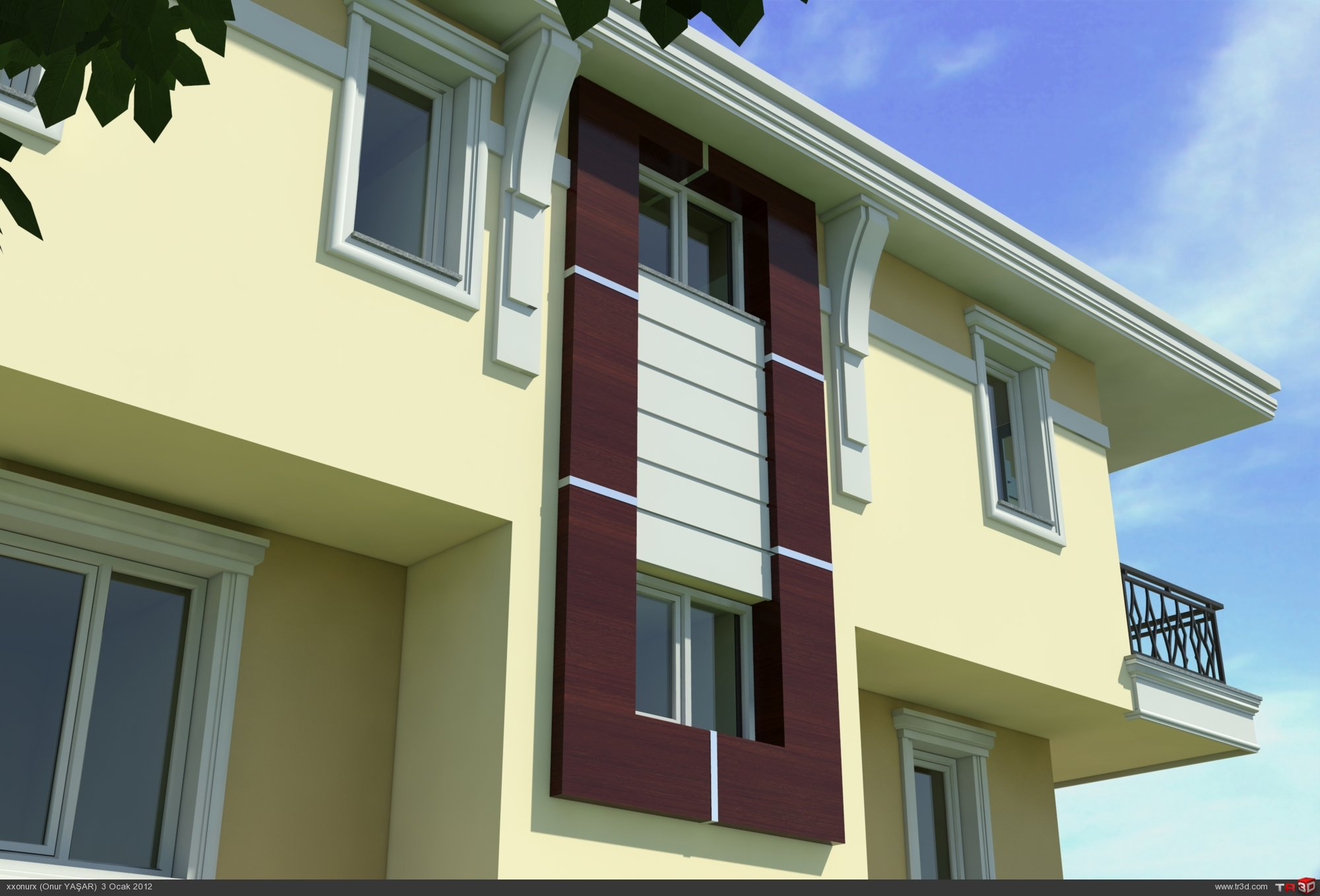 Villa Dış Cephe Tasarımları 1