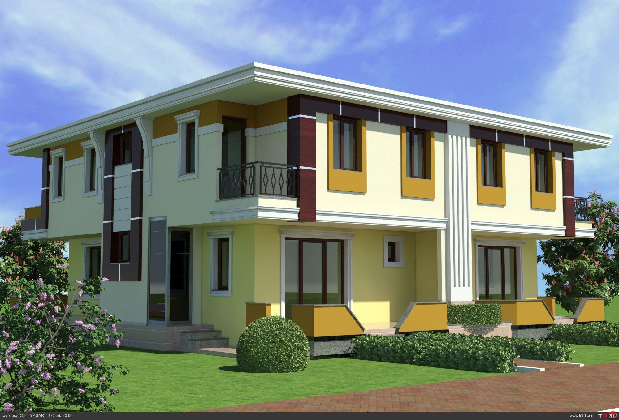 Villa Dış Cephe Tasarımları 2