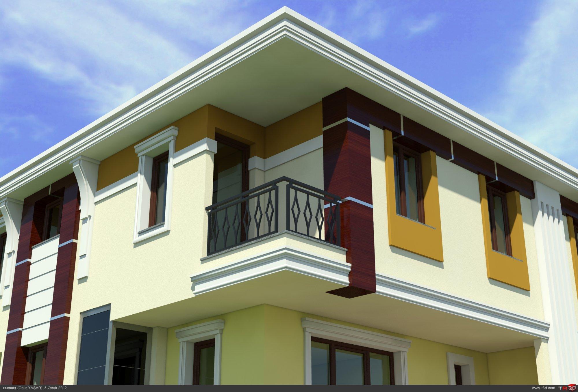 Villa Dış Cephe Tasarımları 3
