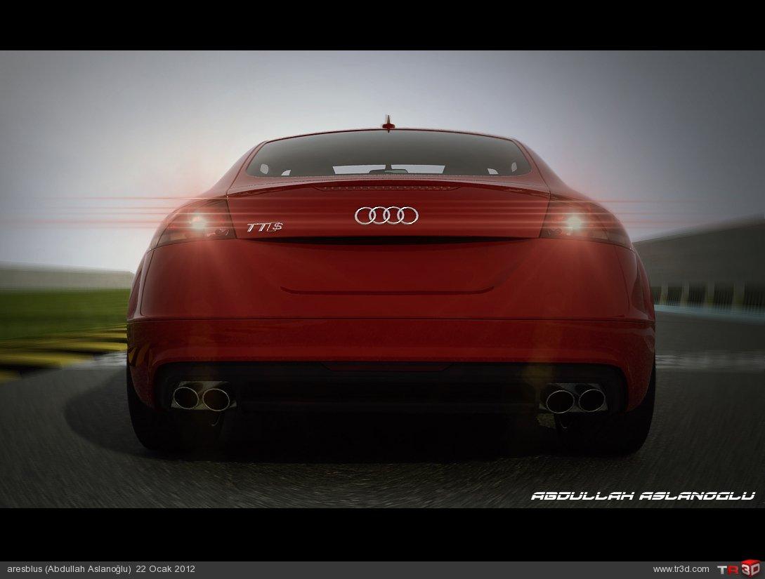 Araba Yarış Animasyonu