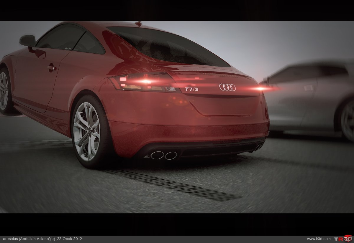 Araba Yarış Animasyonu 2