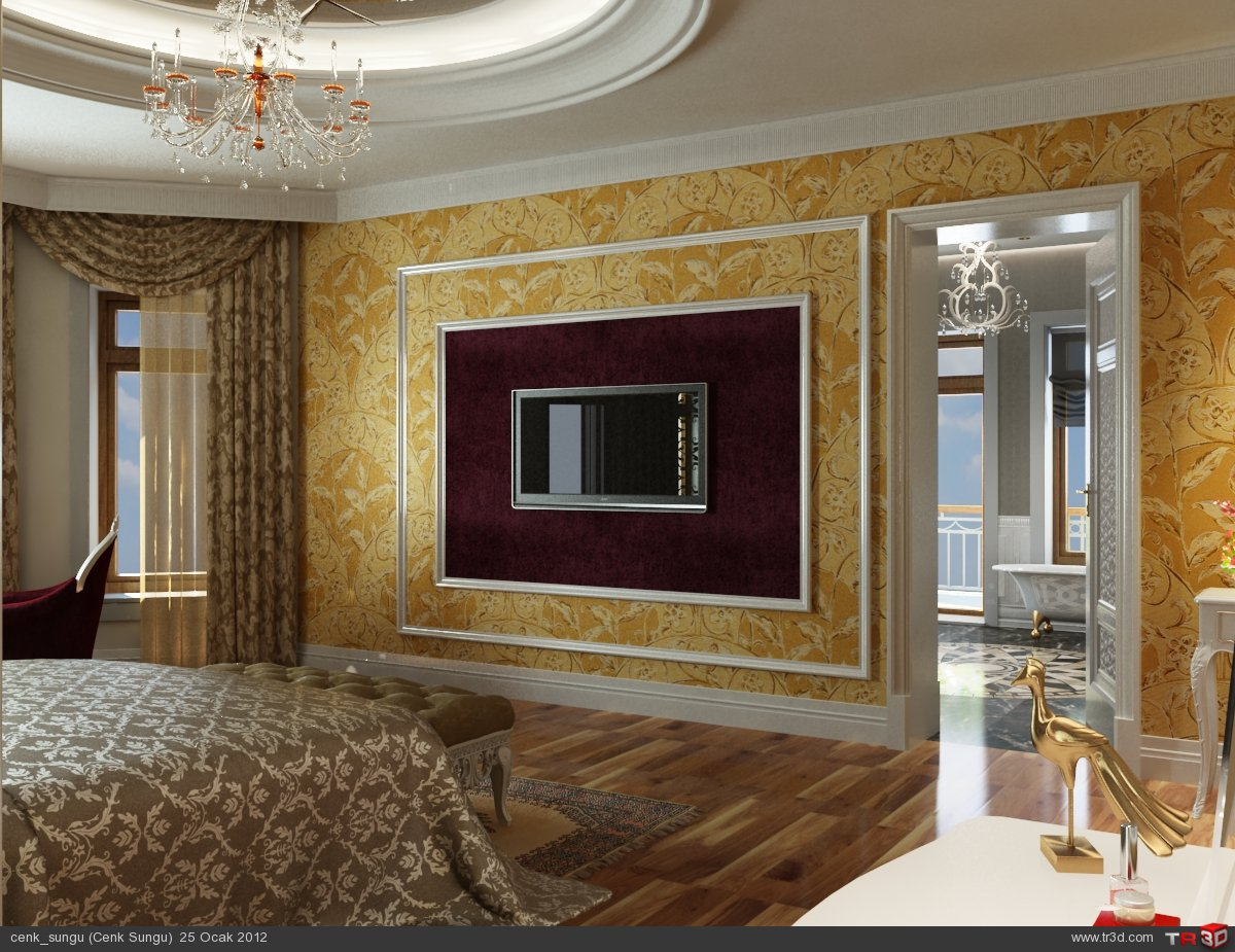 Kazakistan Villa Yatak Odası ve Ebeveyn Banyo 1