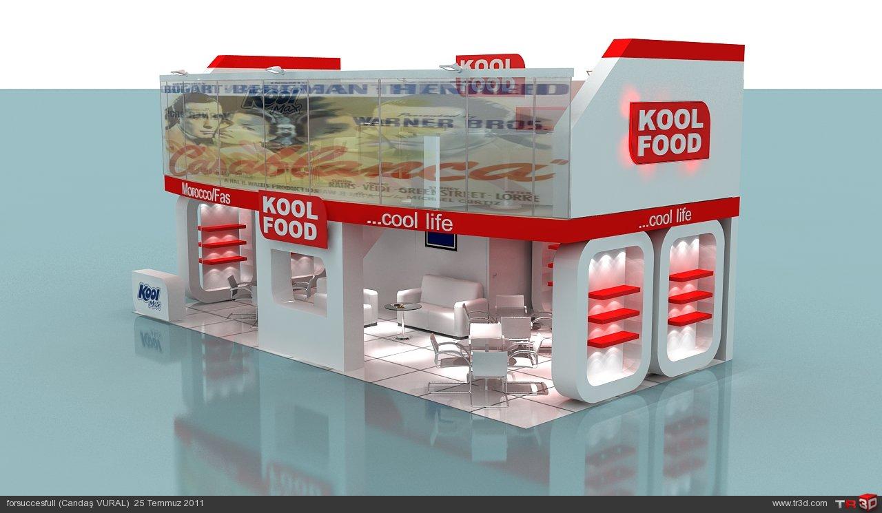 Kool food fuar standı