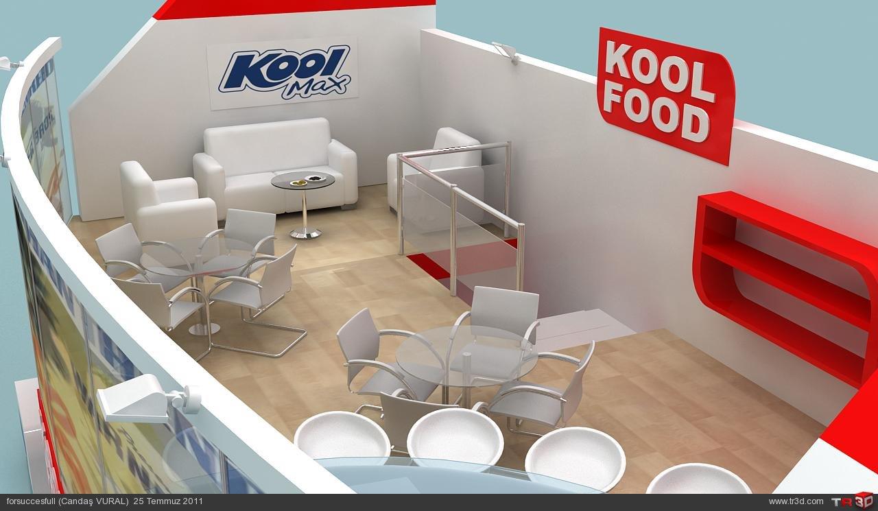 Kool food fuar standı 2