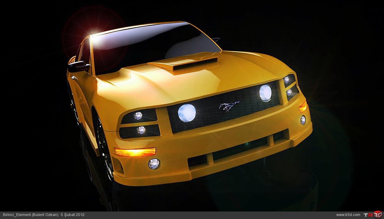 Mustang GT 500 1
