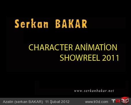 Karakter animasyon showreel 2011