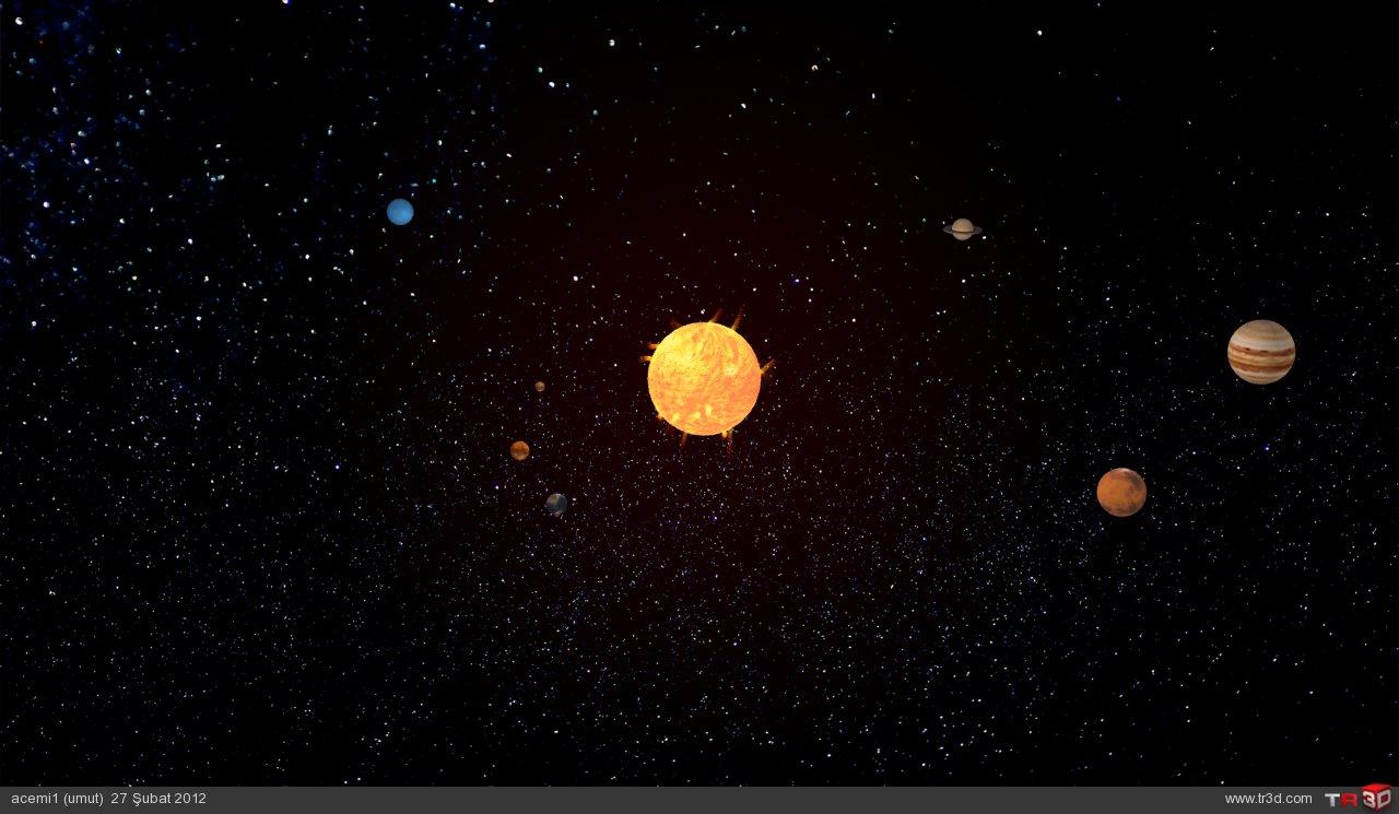 güneş sistemi  2