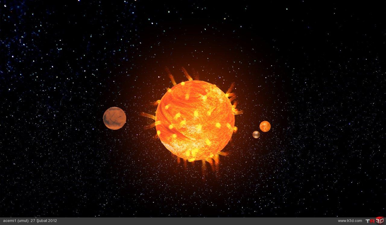 güneş sistemi  3