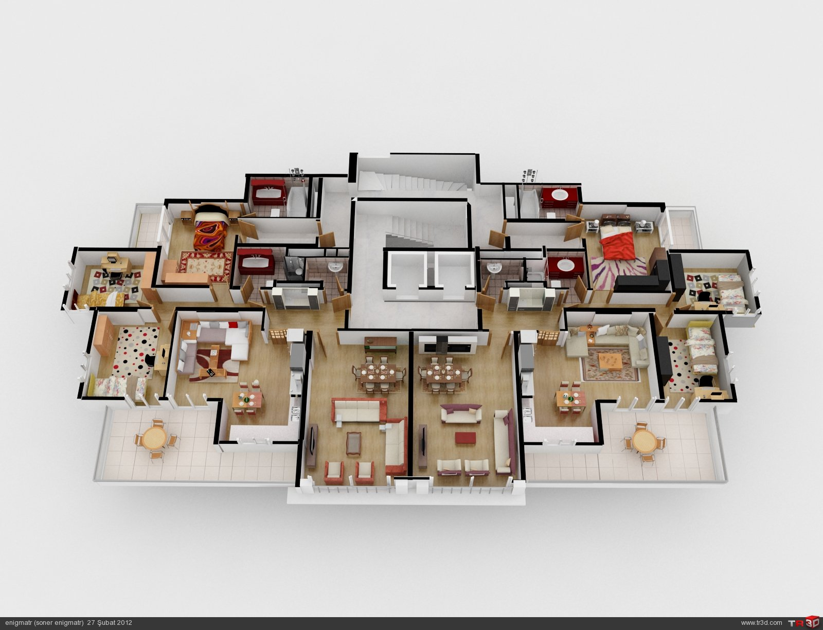 Apartman görselleştirme 3