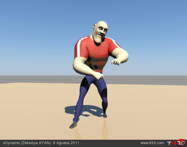 Karakter Animasyon Reel 1