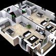 megaron evleri kat planları