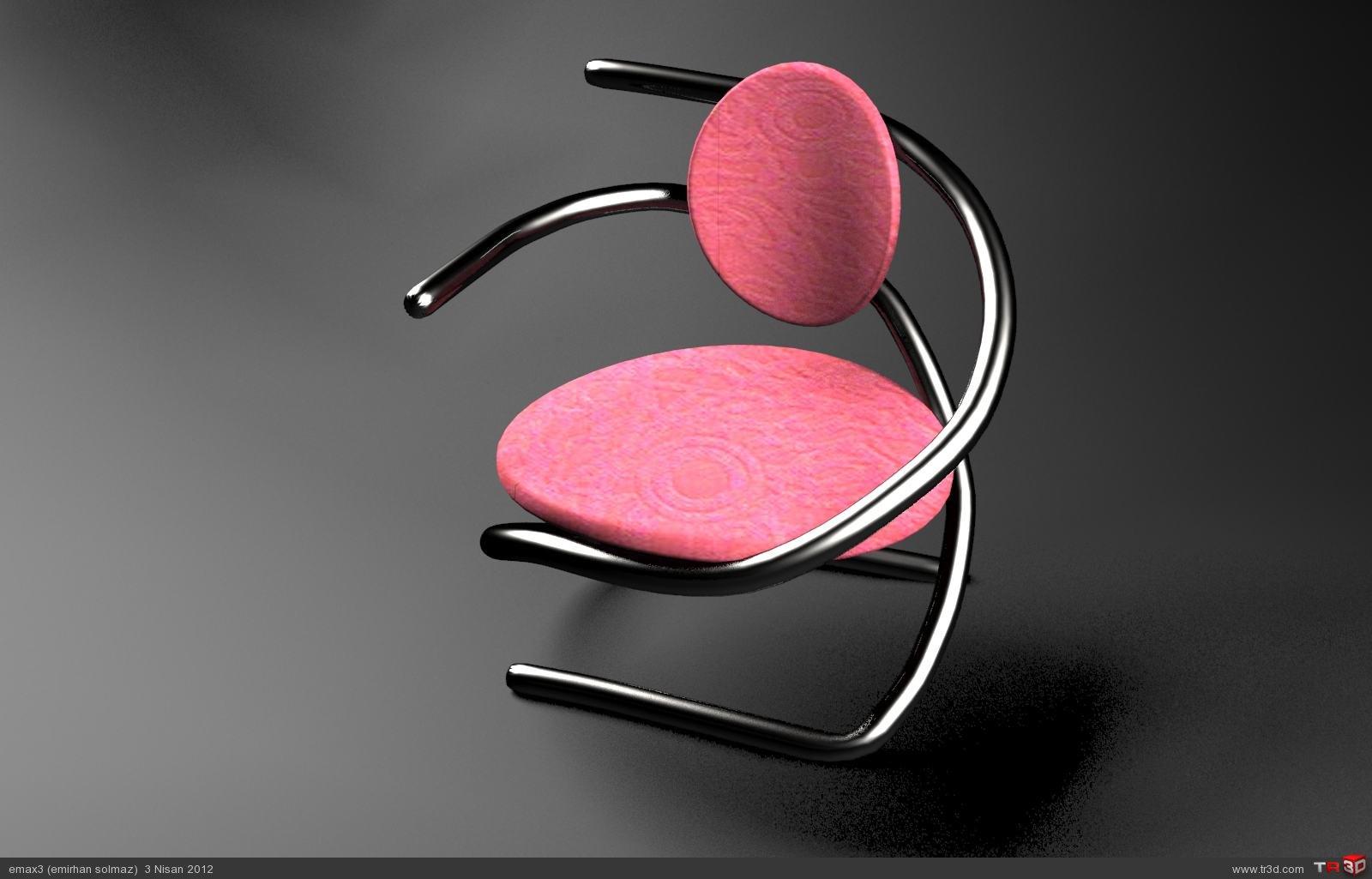 silindirik sandalye