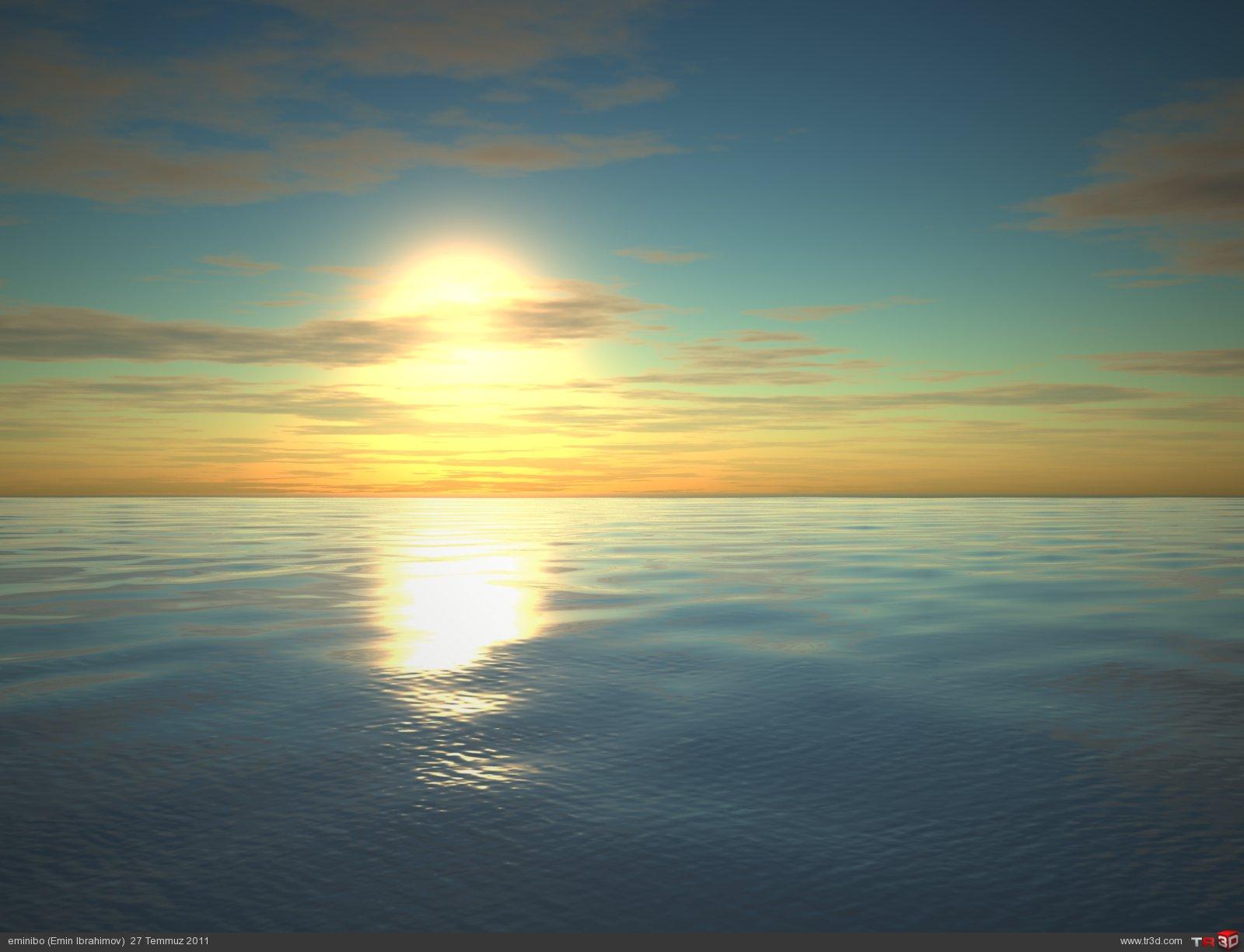 Deniz sahnesi 1
