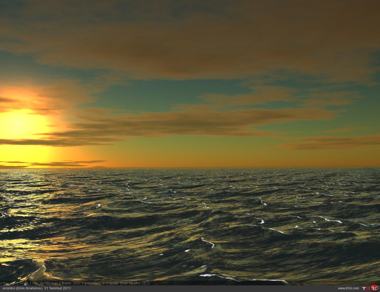 Deniz sahnesi 2