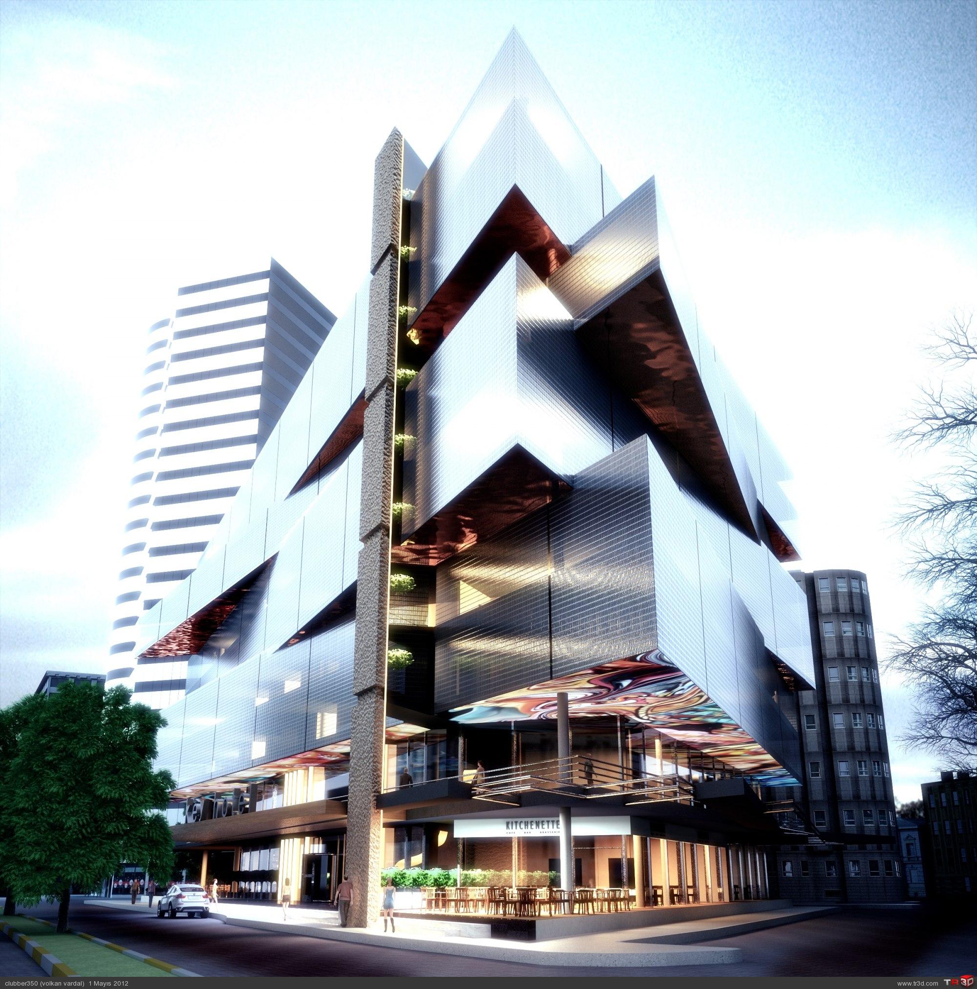 Key hotel zmir mimari projeler for Design hotel bintang 3