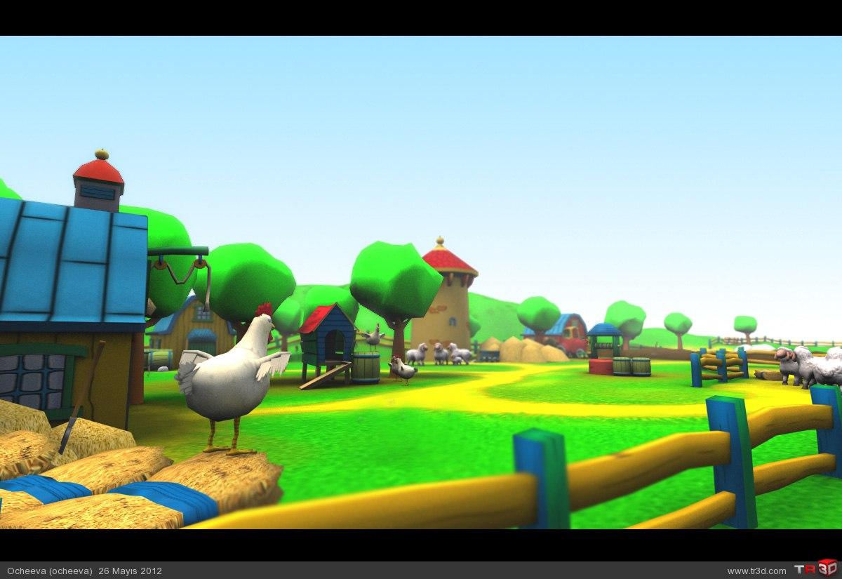 Caillou Çiftlikte Pc Oyun 1