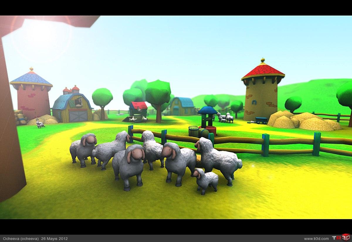 Caillou Çiftlikte Pc Oyun 3