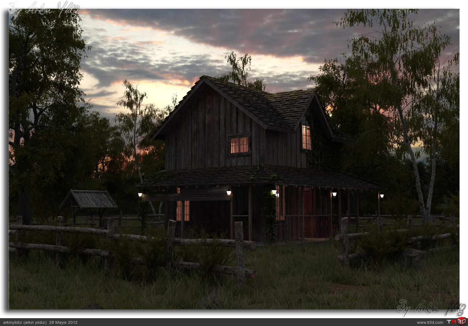 Old Wooden House 1