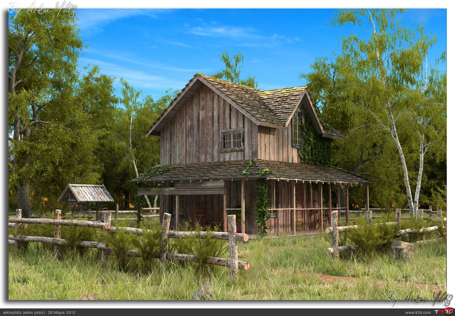 Old Wooden House 2