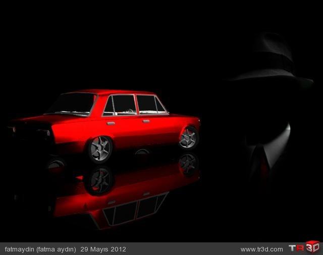 Araba modelleme 3