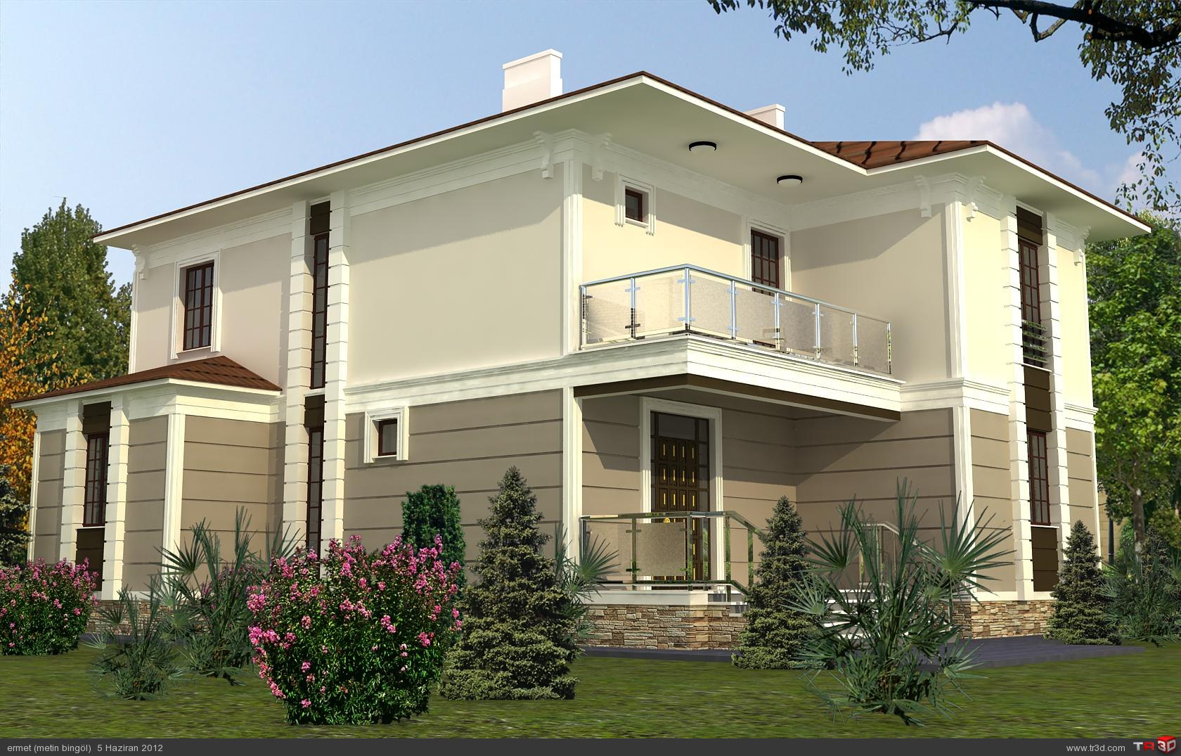 Villa kocaeli mimari projeler