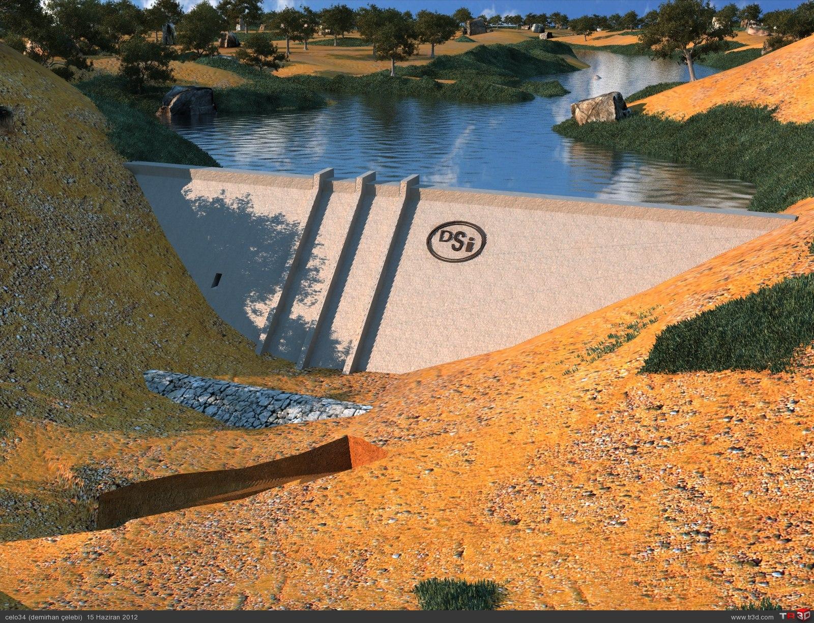 kil çekirdek ve rcc(ekte)yapı baraj 2