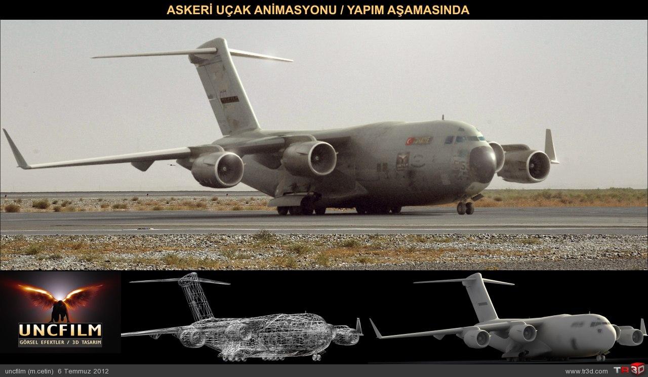 Askeri Uçak / Yapım Aşaması