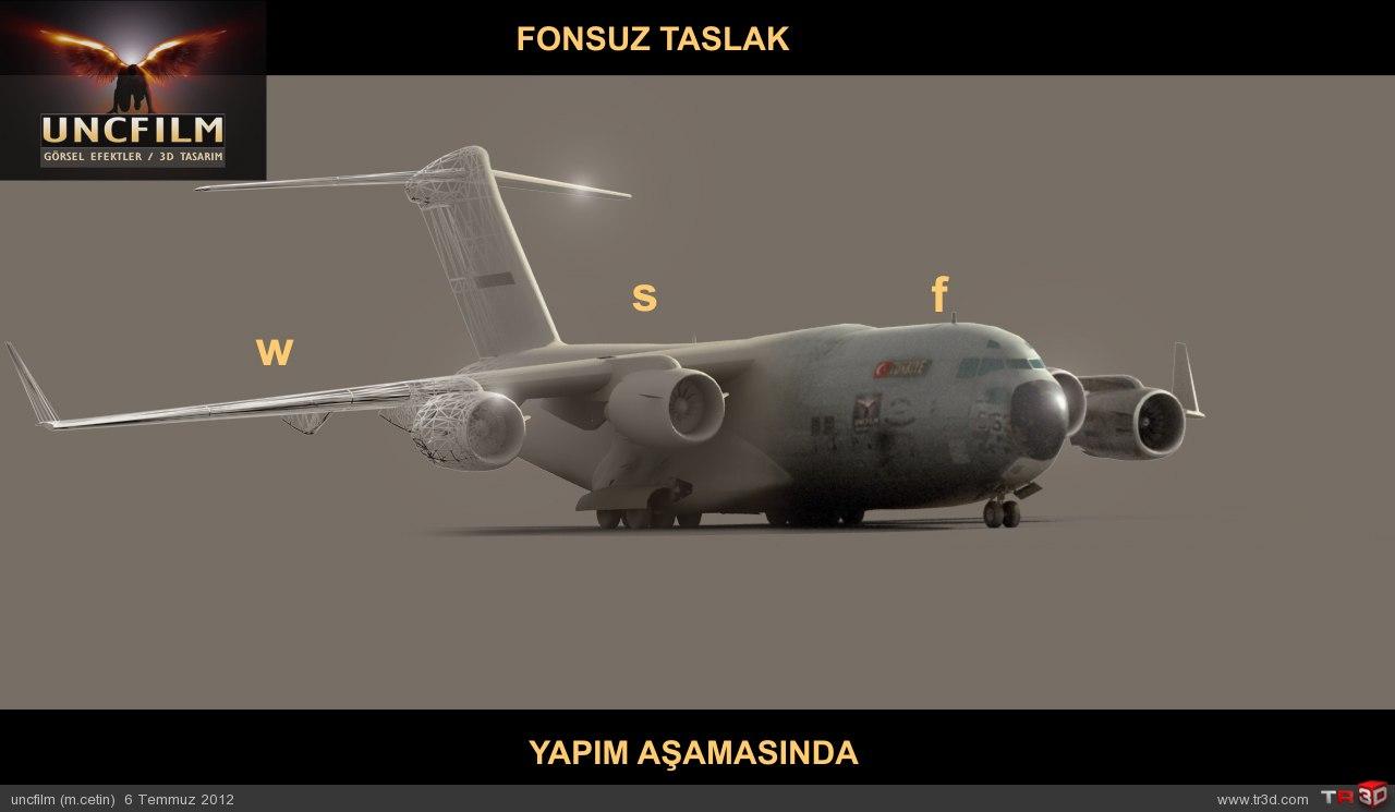 Askeri Uçak / Yapım Aşaması 1