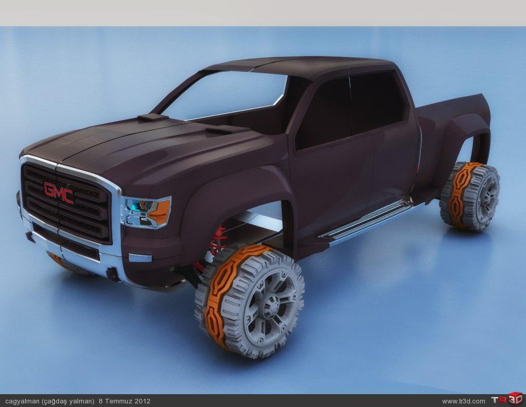 GMC Sierra All Terrain HD Concept