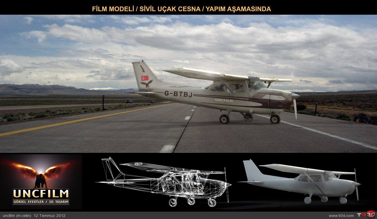 Sivil Uçak / Cesna / İkinci Taslak