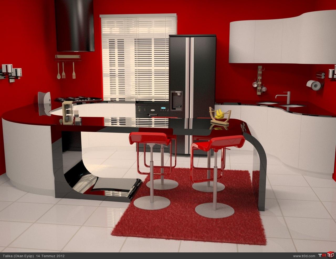 Kırmızı Mutfak