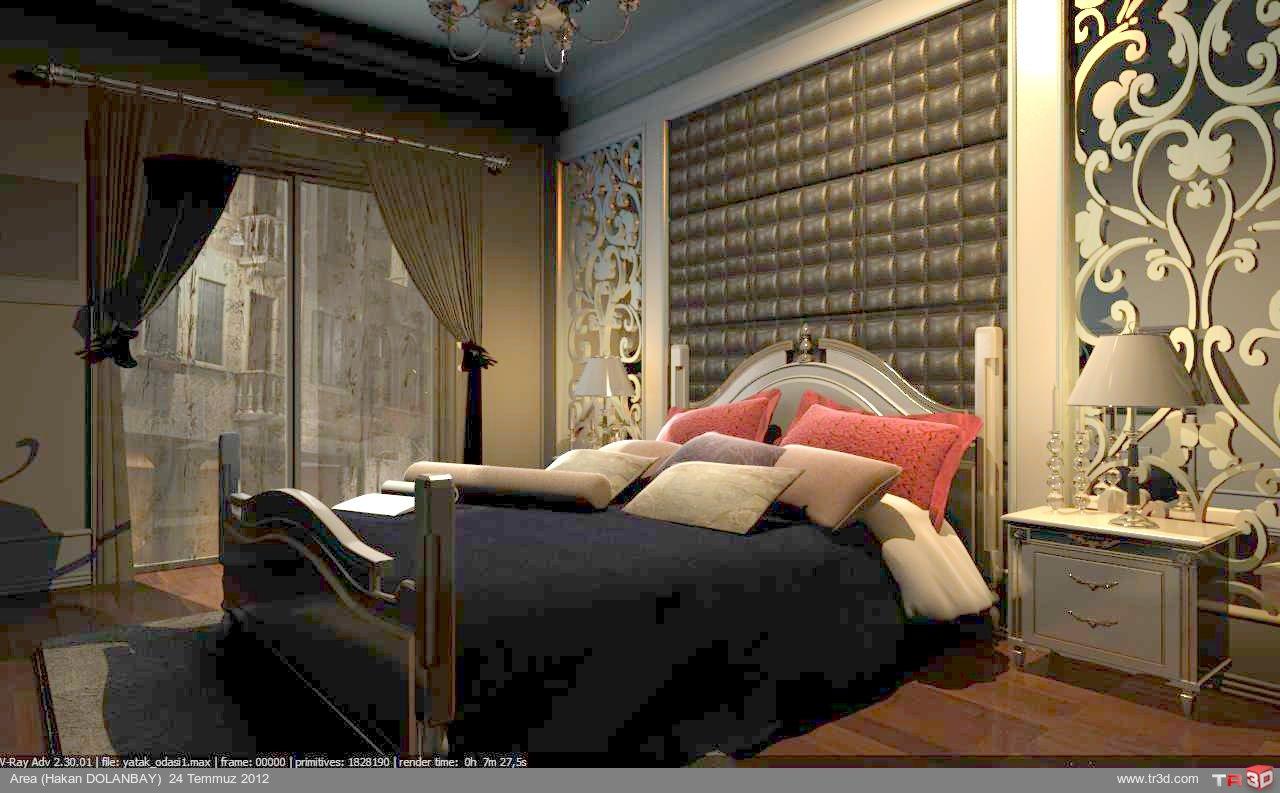 yatak odası bölümü 1