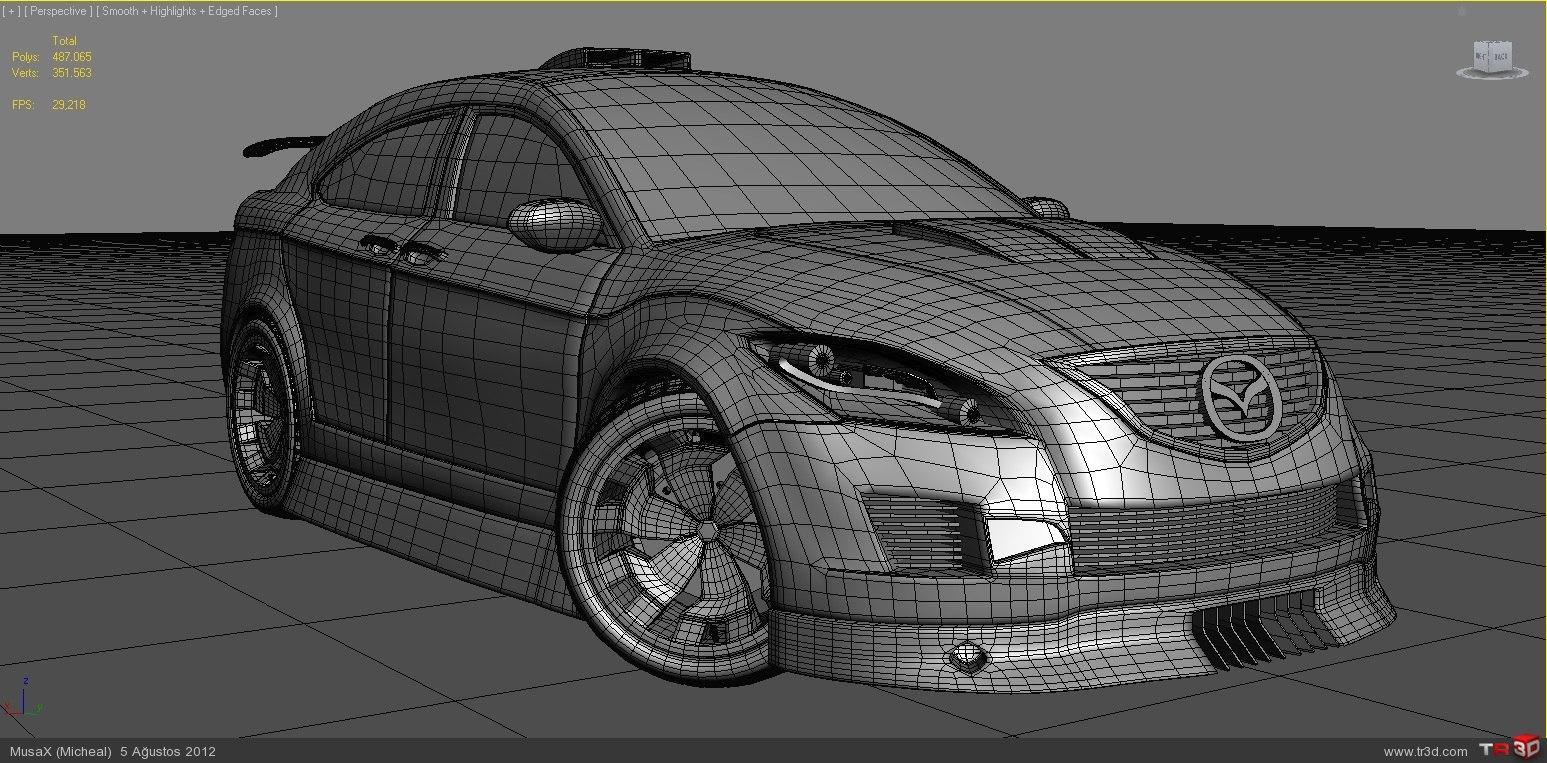 Mazda 6-EskiModel