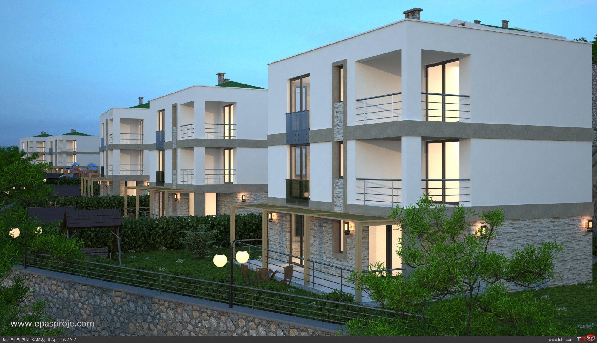 Sapanca Villa Tasarımları 1