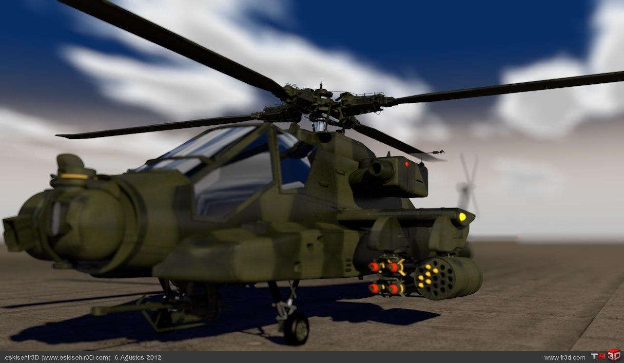 Apache render 1