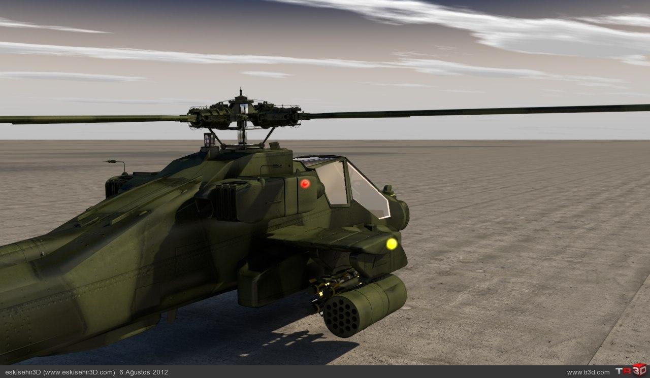 Apache render 3