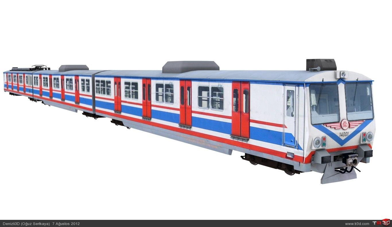 TCDD a4 14000 Banliyö Treni