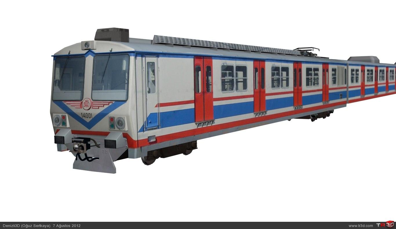 TCDD a4 14000 Banliyö Treni 1