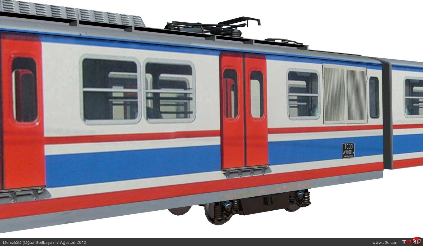 TCDD a4 14000 Banliyö Treni 3