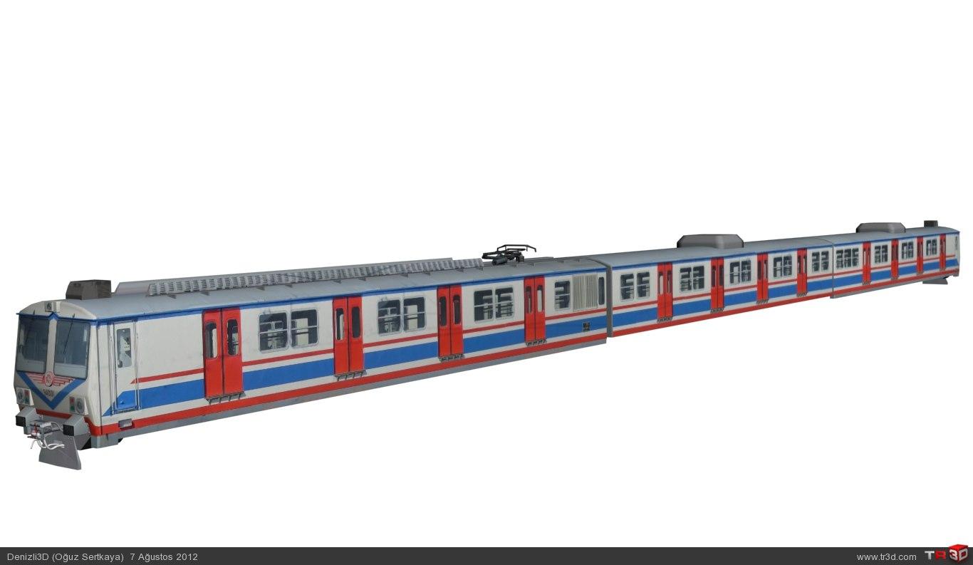 TCDD a4 14000 Banliyö Treni 4