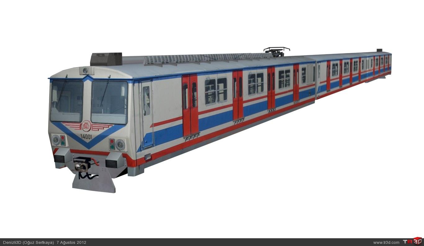 TCDD a4 14000 Banliyö Treni 5