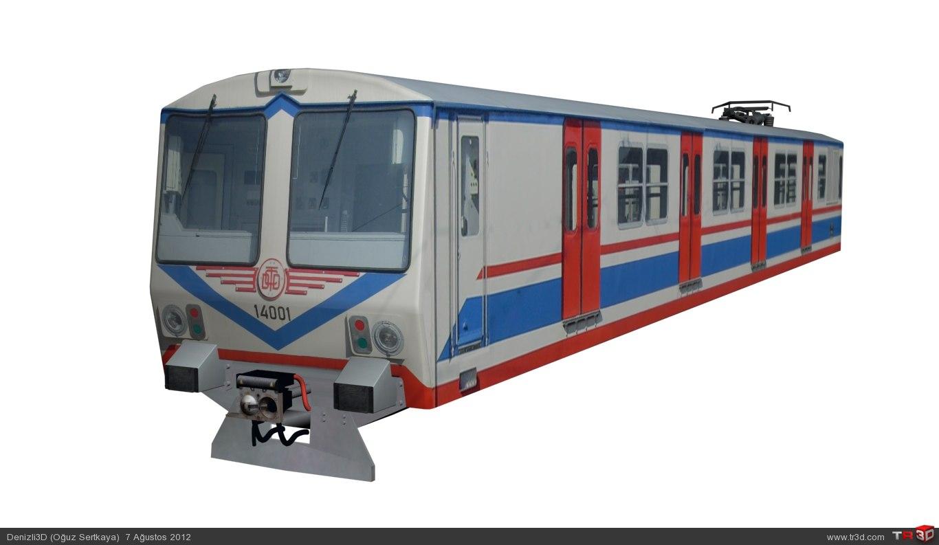 TCDD a4 14000 Banliyö Treni 6