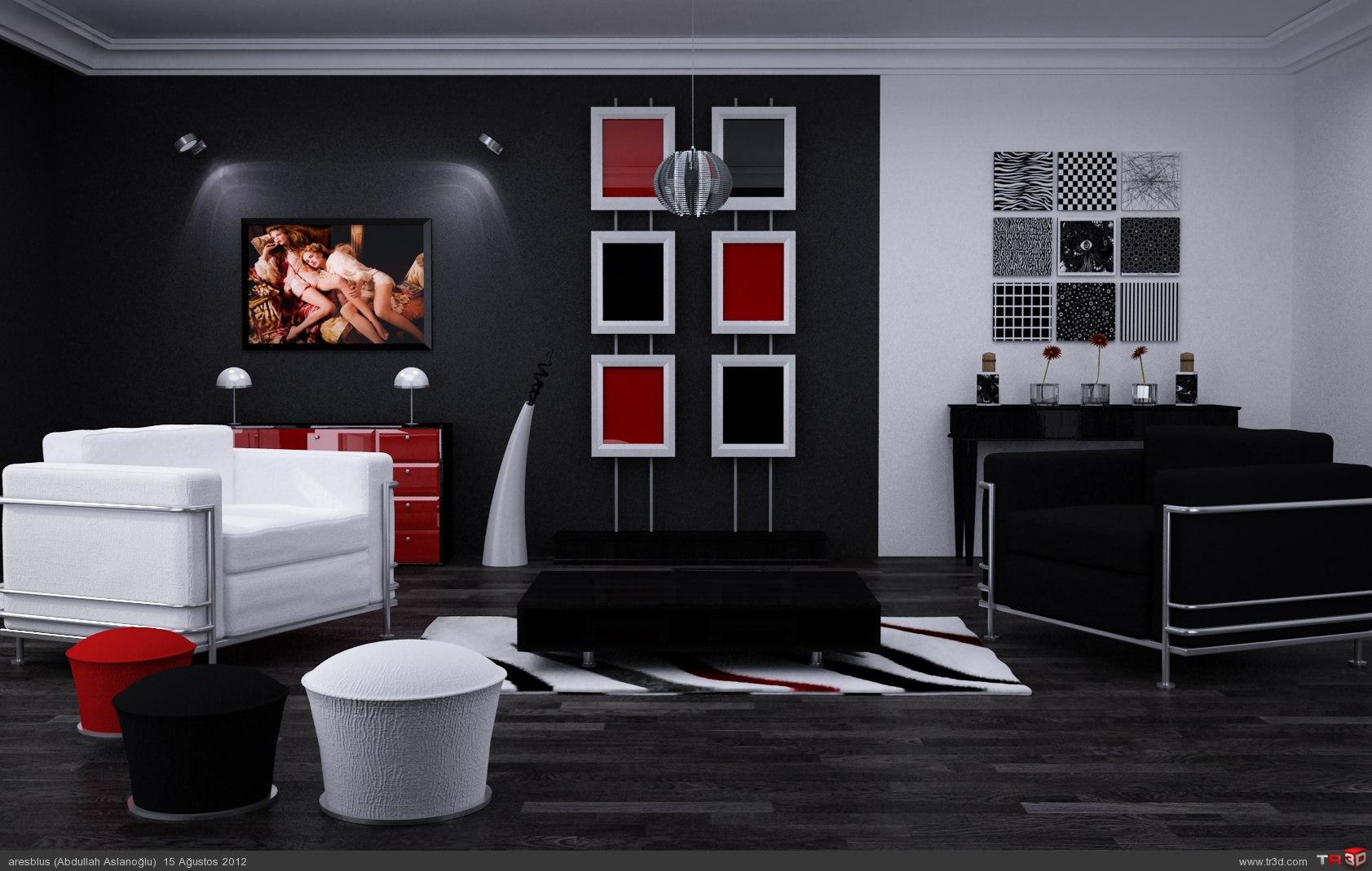 Siyah, Beyaz Ve Kırmızının Aşkı