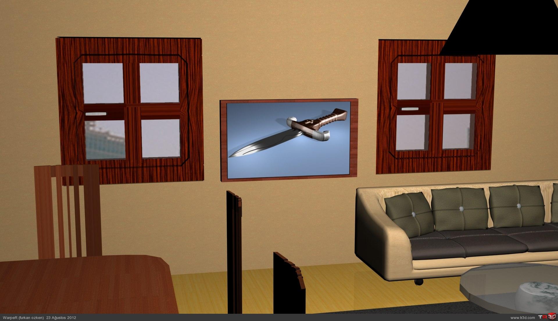 Oturma Odası Dekorasyonu 2