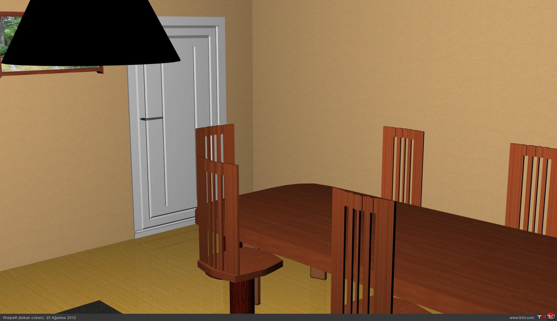 Oturma Odası Dekorasyonu 4
