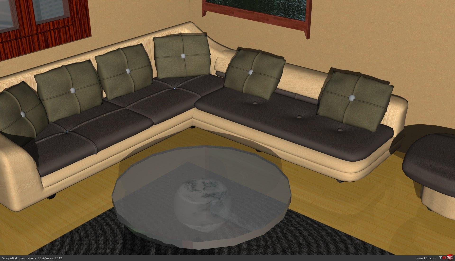 Oturma Odası Dekorasyonu 5