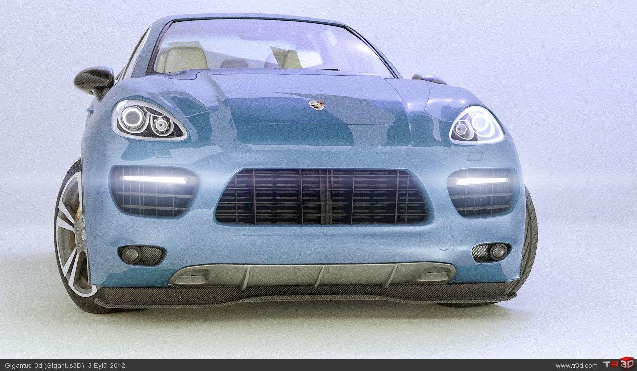 Stüdyo Render - Porsche Cayenne Turbo