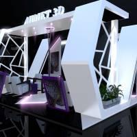 3D FUAR STAND TASARIM