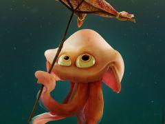 Starfish umbrella