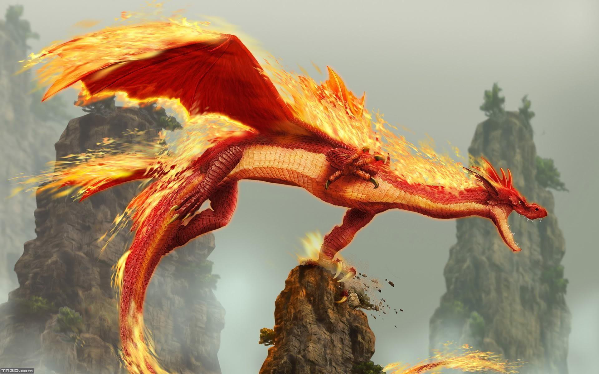 Ateşli ejder